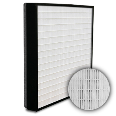 SuperFlo Max HEPA 99.99% Plastic Frame Gasket Down Stream Mini Pleat Filter 12x24x2