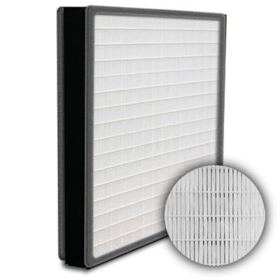 SuperFlo Max HEPA 99.99% Plastic Frame Gasket Both Sides Frame Mini Pleat Filter 12x12x2