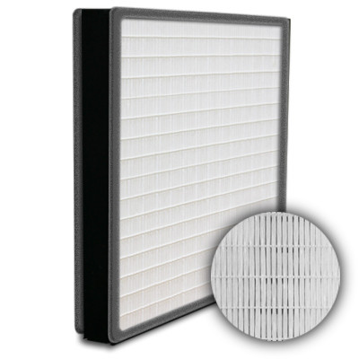 SuperFlo Max HEPA 99.99% Plastic Frame Gasket Both Sides Frame Mini Pleat Filter 12x24x2