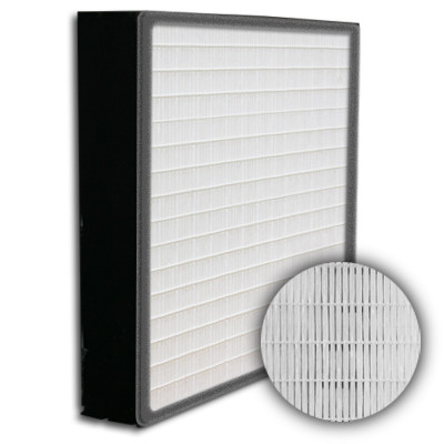 SuperFlo Max HEPA 99.999% Plastic Frame Gasket Up Stream Mini Pleat Filter 24x24x4