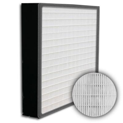 SuperFlo Max HEPA 99.97% Plastic Frame Gasket Up Stream Mini Pleat Filter 12x24x4