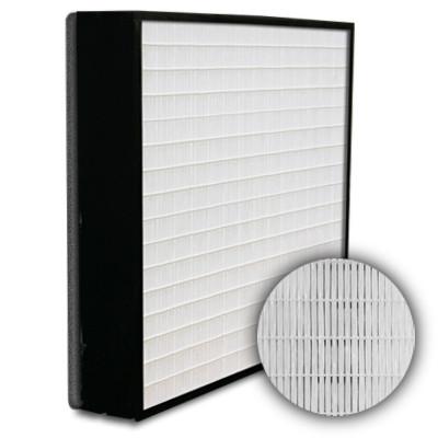 SuperFlo Max HEPA 99.999% Plastic Frame Gasket Down Stream Mini Pleat Filter 12x12x4