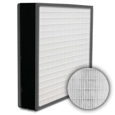 SuperFlo Max HEPA 99.999% Plastic Frame Gasket Both Sides Frame Mini Pleat Filter 12x24x4
