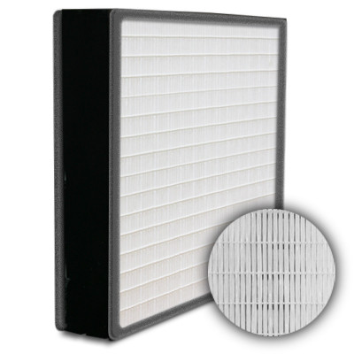 SuperFlo Max HEPA 99.99% Plastic Frame Gasket Both Sides Frame Mini Pleat Filter 12x24x4