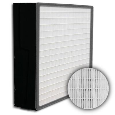 SuperFlo Max HEPA 99.999% Plastic Frame Gasket Up Stream Mini Pleat Filter 12x24x6