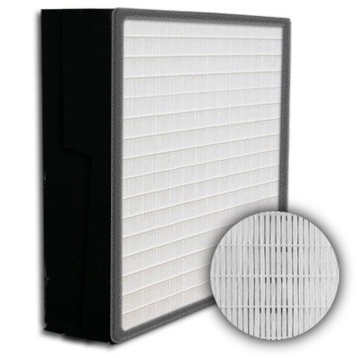 SuperFlo Max HEPA 99.999% Plastic Frame Gasket Up Stream Mini Pleat Filter 24x24x6