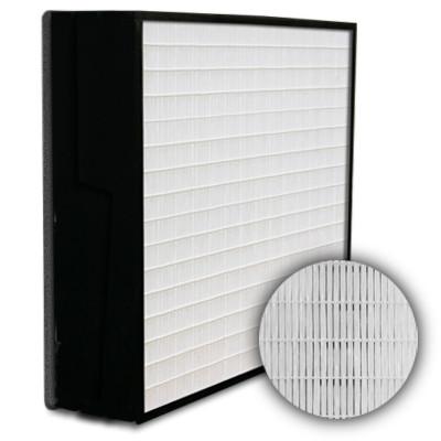 SuperFlo Max HEPA 99.99% Plastic Frame Gasket Down Stream Mini Pleat Filter 12x12x6