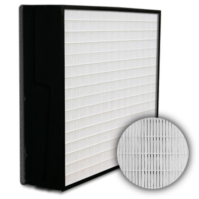 SuperFlo Max HEPA 99.999% Plastic Frame Gasket Down Stream Mini Pleat Filter 24x24x6