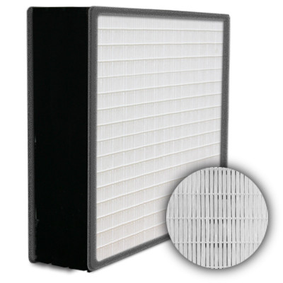 SuperFlo Max HEPA 99.99% Plastic Frame Gasket Both Sides Frame Mini Pleat Filter 12x24x6