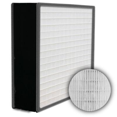 SuperFlo Max HEPA 99.99% Plastic Frame Gasket Both Sides Frame Mini Pleat Filter 12x24x6