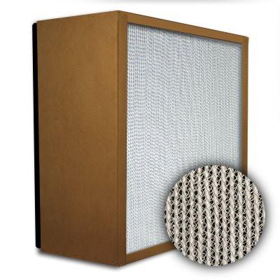 Puracel HEPA 99.999% Standard Capacity Box Filter Particle Board Gasket Down Stream Under Cut 23-3/8x23-3/8x11-1/2