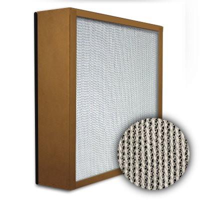 Puracel HEPA 99.999% High Capacity Box Filter Particle Board Gasket Down Stream Under Cut 23-3/8x11-3/8x5-7/8