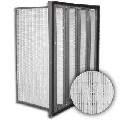 Sure-Cell Plastic Frame 4 V-Cell Gasket Up Stream ULPA  Single Header 24x24x12