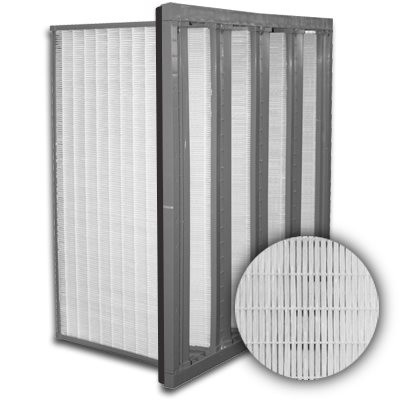 Sure-Cell Plastic Frame 4 V-Cell Gasket Down Stream ULPA  Single Header 12x24x12