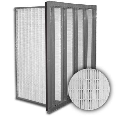 Sure-Cell Plastic Frame 4 V-Cell Gasket Down Stream ULPA  Single Header 20x24x12