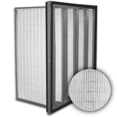 Sure-Cell Plastic Frame 4 V-Cell Gasket Both Sides ULPA  Single Header 12x25x12