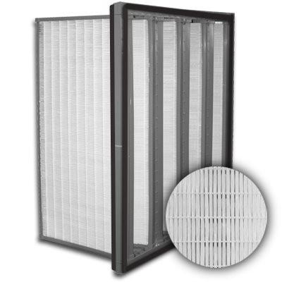 Sure-Cell Plastic Frame 4 V-Cell Gasket Both Sides ULPA  Single Header 24x24x12