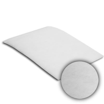 24x24x1/4 Sure-Fit Poly Dual Density White Dry Pad