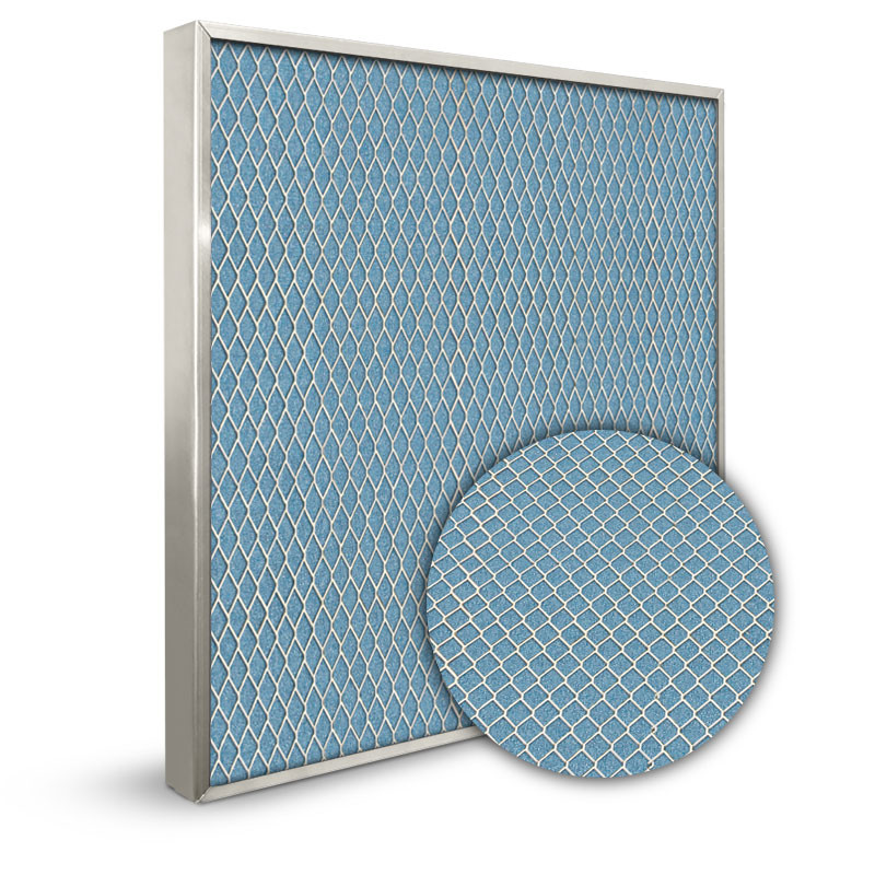 Lifetime 25x30x1 Electrostatic Furnace Filter Silver Frame
