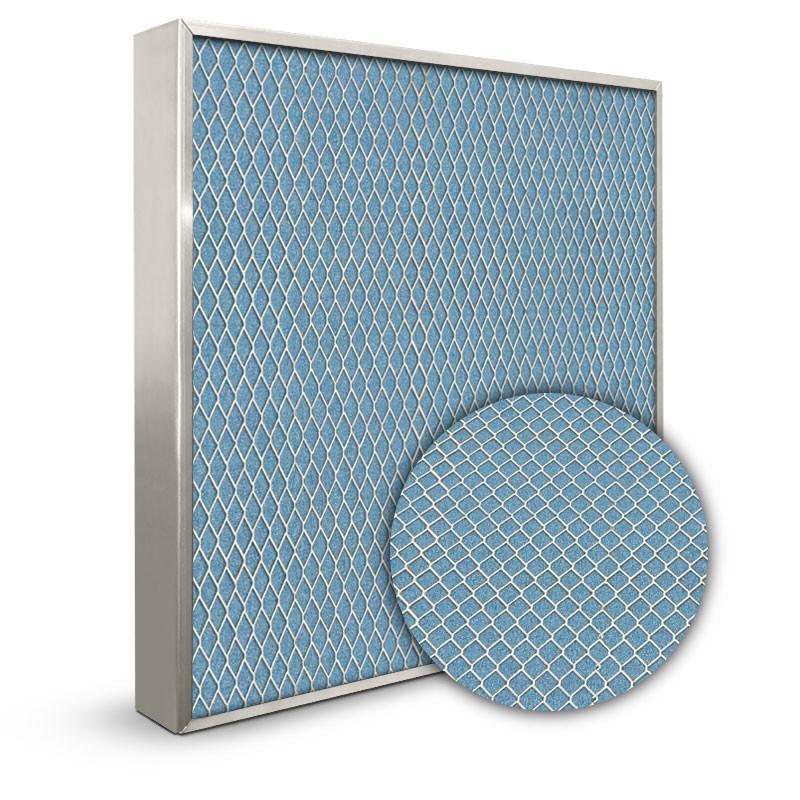 Lifetime 24x24x2 Electrostatic Furnace Filter Silver Frame
