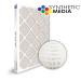 SuperFlo Max Synthetic ASHRAE 95% (MERV 14/15) Dia-Cut Card Board Frame Mini Pleat Filter 24x24x2