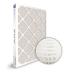 SuperFlo Max ASHRAE 65% (MERV 11/12) Dia-Cut Card Board Frame Mini Pleat Filter 24x24x2