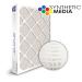 SuperFlo Max Synthetic ASHRAE 95% (MERV 14/15) Dia-Cut Card Board Frame Mini Pleat Filter 20x20x4