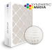 SuperFlo Max Synthetic ASHRAE 65% (MERV 11/12) Dia-Cut Card Board Frame Mini Pleat Filter 20x25x6