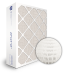 SuperFlo Max ASHRAE 65% (MERV 11/12) Dia-Cut Card Board Frame Mini Pleat Filter 16x25x6