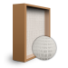 SuperFlo Max ASHRAE 95% (MERV 14/15) Particle Board Frame Mini Pleat Filter 12x12x6