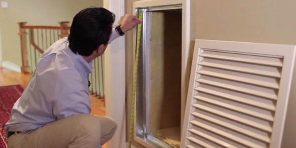 Measuring your Air Filter Return