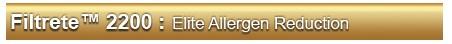Filtrete 2200 Elite Allergen Reduction