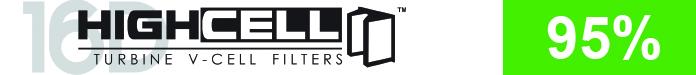 HighCell 16D V-Cell Filter